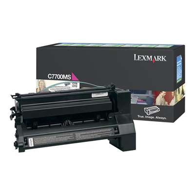Lexmark - TONER MAGENTA PER C770/772 6K