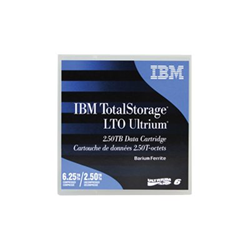 Support stockage IBM TotalStorage - LTO Ultrium 6 - 2.5 To / 6.25 To - étiqueté