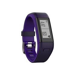 Sportwatch Garmin vívosmart HR+ - Suivi d'activités - Standard - monochrome - Bluetooth, ANT/ANT+ - 31 g - Violet impérial