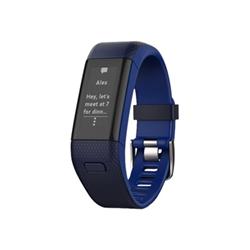 Sportwatch Garmin vívosmart HR+ - Suivi d'activités - Standard - monochrome - Bluetooth, ANT/ANT+ - 31 g - bleu