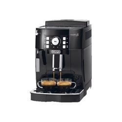 """Expresso et cafetière De'Longhi Magnifica S ECAM 21.110.B - Machine à café automatique avec buse vapeur """"Cappuccino"""" - 15 bar - Noir avec des touches d'argent"""