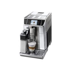 """Expresso et cafetière De'Longhi PrimaDonna Elite ECAM 650.55.MS - Machine à café automatique avec buse vapeur """"Cappuccino"""" - 15 bar - inox"""