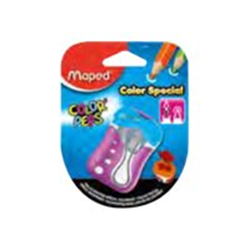 Taille-crayon Maped Color'Peps - Taille-crayon - 2 trous - assortiment (pack de 25)