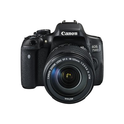 Canon - EOS 750D + EF-S 18-135 IS STM