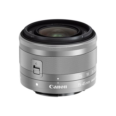 Canon - EF-M 15-45MM F/3.5-6.3 IS STM SILV