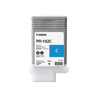 Canon - PFI-102C CARTUCCIA CIANO