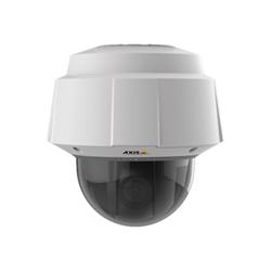 Caméscope pour vidéo surveillance AXIS Q6054-E PTZ Dome Network Camera 50Hz - Caméra de surveillance réseau - PIZ - extérieur - à l'épreuve du vandalisme / résistant aux intempéries - couleur (Jour et nuit) - 1280 x 720 - 720p - diaphragme automatique - motorisé - LAN 10/100 - MPEG-4, MJPEG, H.264 - High PoE
