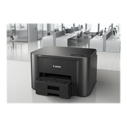 Imprimante à jet d'encre Canon MAXIFY iB4150 - Imprimante - couleur - Recto-verso - jet d'encre - A4/Legal - 600 x 1 200 ppp - jusqu'à 24 ipm (mono) / jusqu'à 15.5 ipm (couleur) - capacité : 500 feuilles - USB 2.0, LAN, Wi-Fi(n)