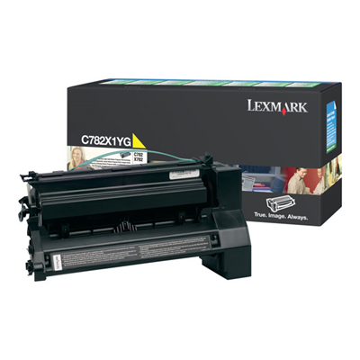 Lexmark - TONER GIALLO  X782 ALTISSIMA RESA