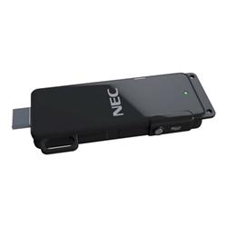 NEC MultiPresenter Stick MP10RX2 - Adaptateur de diffusion en continu de support réseau - 802.11b, 802.11g, 802.11n