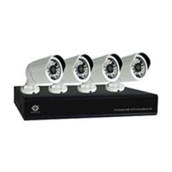 Conceptronic C8CHCCTVKITD1080 - DVR + caméra(s) - 8 canaux - 4 caméra(s) - CMOS