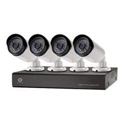 Conceptronic C8CCTVKITD4TB - DVR + caméra(s) - 8 canaux - 1 x 4 To - 4 caméra(s) - CMOS