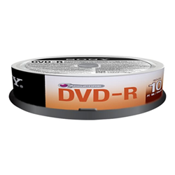 Sony - Dvd-r 16x spindle 100 pezzi
