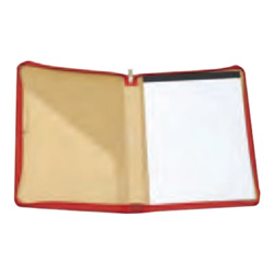 Boîte à archive ORNA 916 Trend Line - Protection à rabat pour tablette - cuir - rouge