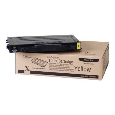 Xerox - CARTUC TONER GIALLO HC PHASER 6100