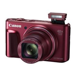 Appareil photo Canon PowerShot SX720 HS - Appareil photo numérique - compact - 20.3 MP - 1080p / 60 pi/s - 40x zoom optique - Wi-Fi, NFC - rouge