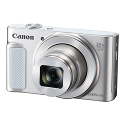 "PowerShot SX620 HS Fotocamera compatta 20.2MP 1/2.3"" CMOS 5184 x 3888Pixel Bianco, Fotocamera digitale"