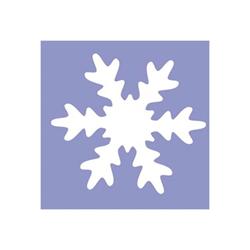 CWR - Perforatrice à levier - flocons de neige - 3.8 x 3.8 cm