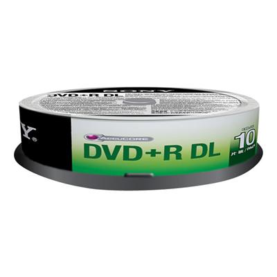 Sony - DVD+R DOUBLE LAYER 8 5 GB SP 10 PZ
