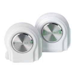 Nilox DROPS - Écouteurs avec micro - intra-auriculaire - sans fil - Bluetooth - blanc