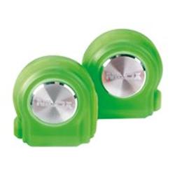 Nilox DROPS - Écouteurs avec micro - intra-auriculaire - sans fil - Bluetooth - vert