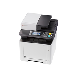 Imprimante laser multifonction Kyocera ECOSYS M5526cdw - Imprimante multifonctions - couleur - laser - Legal (216 x 356 mm)/A4 (210 x 297 mm) (original) - A4/Legal (support) - jusqu'à 26 ppm (copie) - jusqu'à 26 ppm (impression) - 300 feuilles - 33.6 Kbits/s - USB 2.0, Gigabit LAN, hôte USB, Wi-Fi