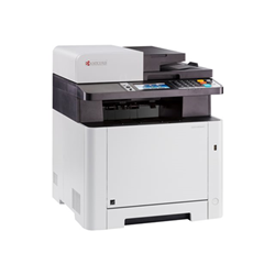 Imprimante laser multifonction Kyocera ECOSYS M5526cdn - Imprimante multifonctions - couleur - laser - Legal (216 x 356 mm)/A4 (210 x 297 mm) (original) - A4/Legal (support) - jusqu'à 26 ppm (copie) - jusqu'à 26 ppm (impression) - 300 feuilles - 33.6 Kbits/s - USB 2.0, Gigabit LAN, hôte USB