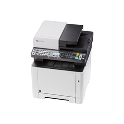 Imprimante laser multifonction Kyocera ECOSYS M5521cdw - Imprimante multifonctions - couleur - laser - Legal (216 x 356 mm)/A4 (210 x 297 mm) (original) - A4/Legal (support) - jusqu'à 21 ppm (copie) - jusqu'à 21 ppm (impression) - 300 feuilles - 33.6 Kbits/s - USB 2.0, Gigabit LAN, hôte USB, Wi-Fi