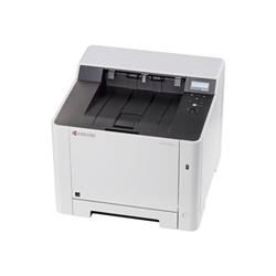 Imprimante laser Kyocera ECOSYS P5026cdn - Imprimante - couleur - Recto-verso - laser - A4/Legal - 9 600 x 600 ppp - jusqu'à 26 ppm (mono) / jusqu'à 26 ppm (couleur) - capacité : 300 feuilles - USB 2.0, Gigabit LAN, hôte USB