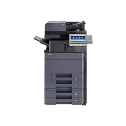 Imprimante laser multifonction Kyocera TASKalfa 5052ci - Imprimante multifonctions - couleur - laser - A3 (297 x 420 mm) (original) - A3 (support) - jusqu'à 50 ppm (copie) - jusqu'à 50 ppm (impression) - 1150 feuilles - USB 2.0, Gigabit LAN, hôte USB 2.0