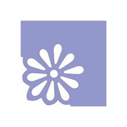 CWR Deco Angolo - Perforatrice à levier - fleur - 38 mm x 38 mm