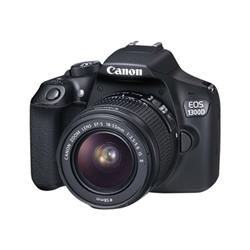 Fotocamera reflex Eos 1300d ef-s 18-55 dc iii Nero- canon - monclick.it