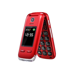 Telefono cellulare Lumina+ Red Rosso- saiet - monclick.it