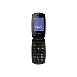 Téléphone portable Saiet LUMINA 3G - Téléphone mobile - 3G - microSDHC slot - GSM - 240 x 320 pixels - TFT - 2 MP - noir
