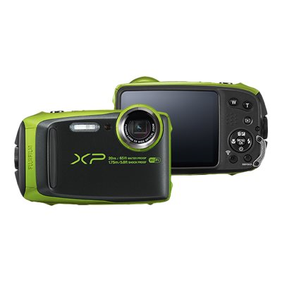 Fujifilm - FINEPIX XP120 LIME