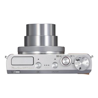 Canon - POWERSHOT G9 X MARK II SILVER