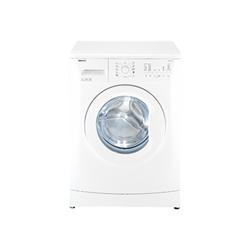 Lave-linge Beko WMB 51021 - Machine à laver - pose libre - largeur : 60 cm - profondeur : 45 cm - hauteur : 84 cm - chargement frontal - 5 kg - 1000 tours/min