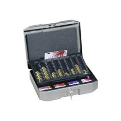 DURABLE ¤UROBOXX - Boîte pour argent liquide - métal - gris anthracite