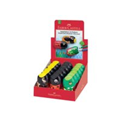 Taille-crayon Faber-Castell - Taille-crayon - animaux - 2 trous - assortiment (pack de 18)