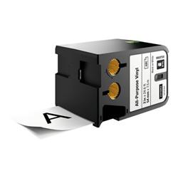 Ruban DYMO XTL - Étiquettes - vinyle - noir sur blanc - Rouleau (5,4 cm x 7,5 m) 1 rouleau(x) - pour XTL 500