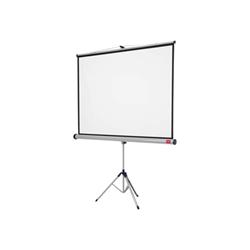 Écran pour vidéoprojecteur NOBO - Écran de projection avec trépied - 95.7 po (243 cm) - 4:3 - Matte White