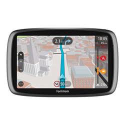 Navigateur satellitaire TomTom TRUCKER 6000 - Navigateur GPS - automobile 6 po grand écran
