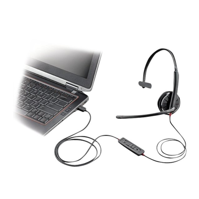 Plantronics - BLACKWIRE 315.1-M MONO HEADSET