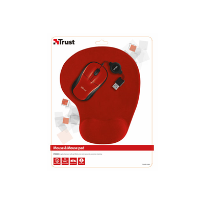Trust - PRIMO WIRELESS MOUSE RED