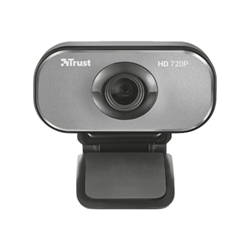 Webcam Trust Viveo HD - Webcam - couleur - 2 MP - 1600 x 1200 - 720p - audio - USB