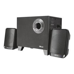 Haut-parleurs Trust Evon Wireless 2.1 Speaker Set - Système de haut-parleur - pour PC - Canal 2.1 - sans fil - 15 Watt (Totale)