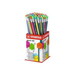 Porte mines STABILO pencil - Crayon - HB - avec gomme - pack de 72