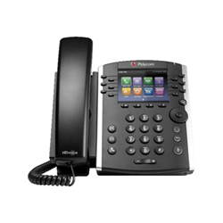 Téléphone VOIP Polycom VVX 411 - Téléphone VoIP - SIP, RTCP, RTP, SRTP, SDP - 12 lignes