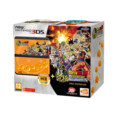 Nintendo - NEW 3DS HW + DRAGON BALL Z EXT BUT