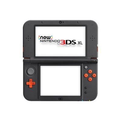 Nintendo - NEW 3DS XL HW ORANGE BLACK ITA